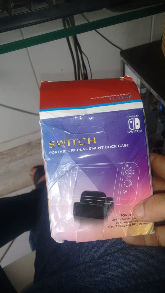 Pingou ! Produto: Portable Replacement Dock Case for Nintend SwitchTotal