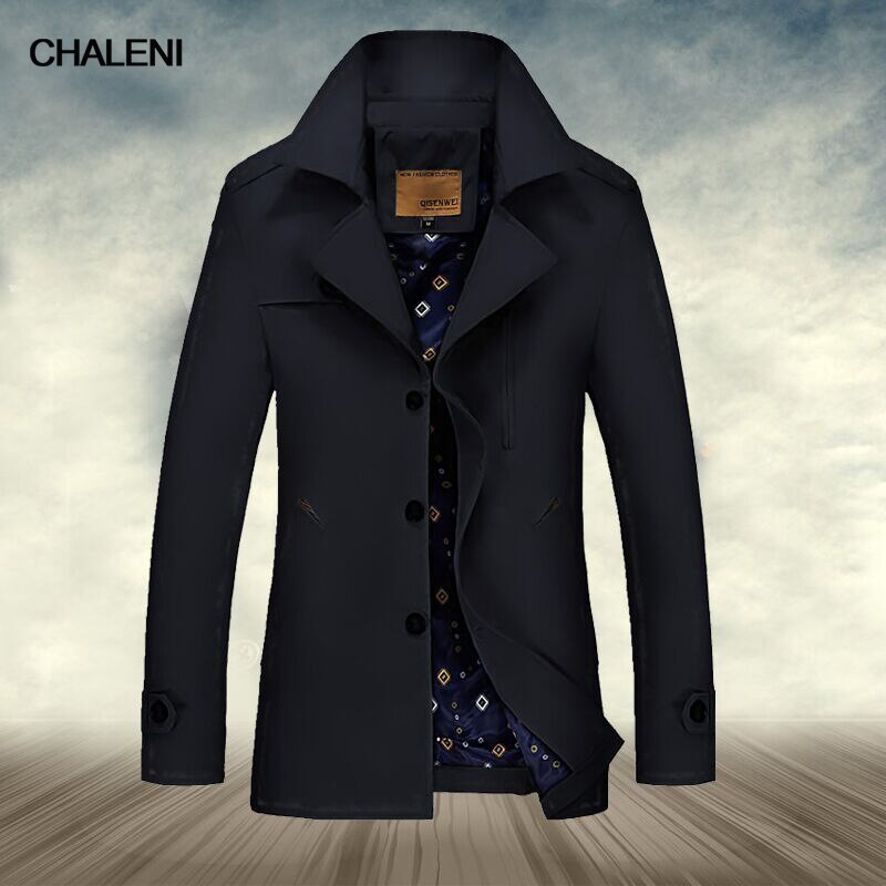 New men's clothing trendy windbreaker men's shirt collar windbreaker casual…